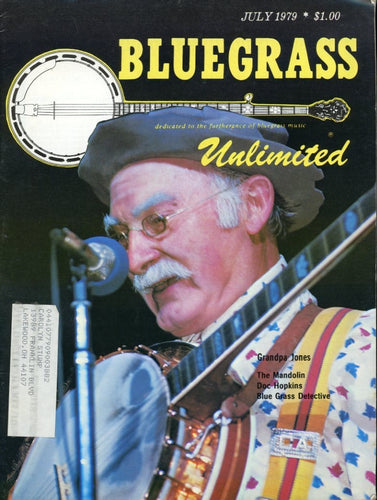 Bluegrass Unlimited Magazine Back Issue - July 1979