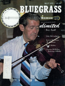 Bluegrass Unlimited Magazine Back Issue - May 1979