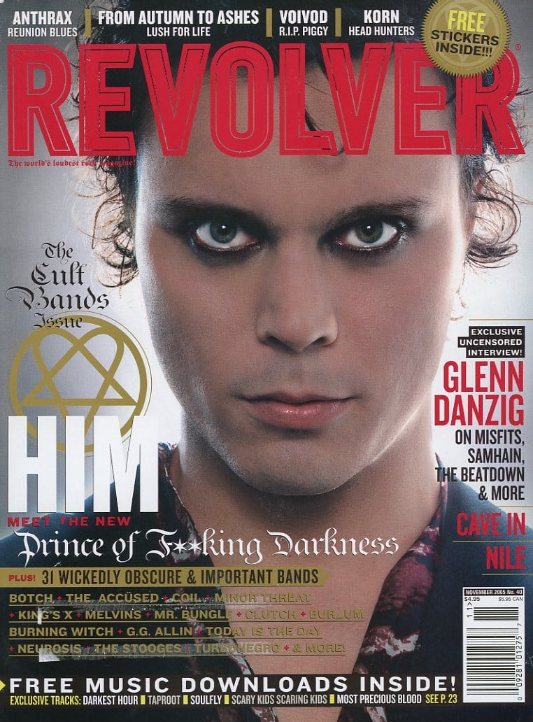 Revolver Magazine Back Issue - November 2005