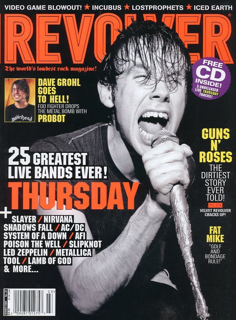 Revolver Magazine Back Issue - March 2004