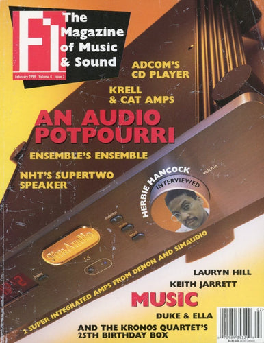 FI: The Magazine Of Music - Volume 4 Issue #2 Magazine Back Issue