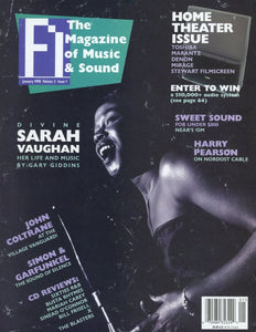 FI: The Magazine Of Music - Volume 3 Issue #1 Magazine Back Issue