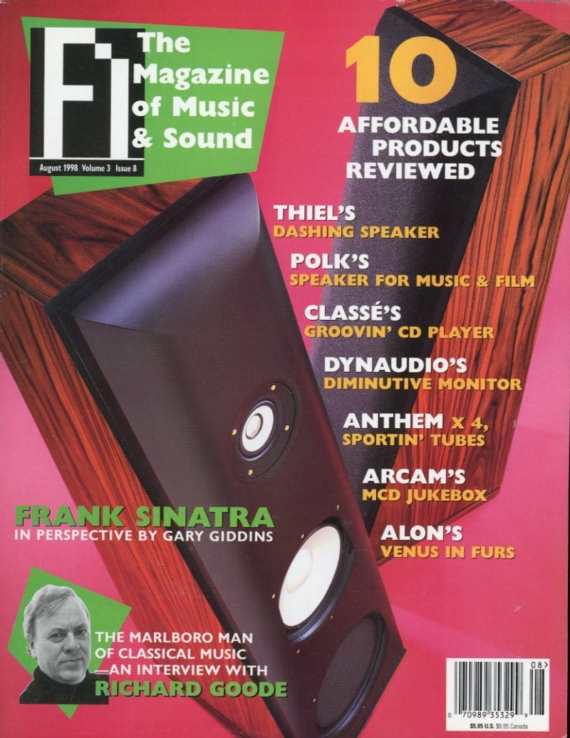FI: The Magazine Of Music - Volume 3 Issue #8 Magazine Back Issue
