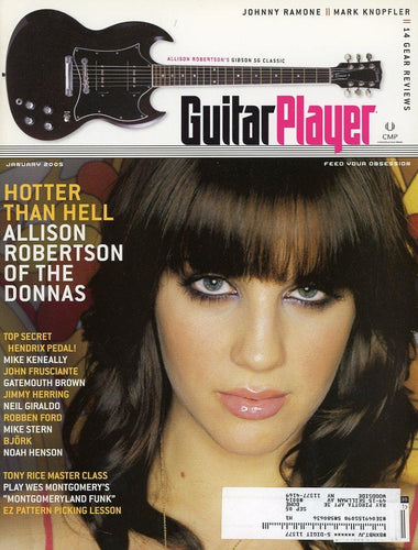 Guitar Player Magazine Back Issue - January 2005