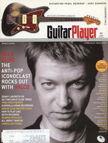 Guitar Player Magazine Back Issue - March 2005
