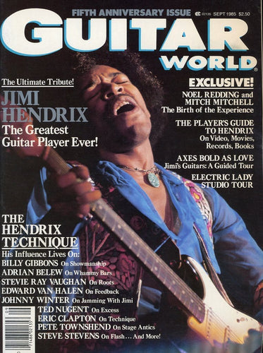 Guitar World - September 1985 (Magazine Back Issue)