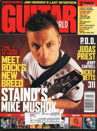 Guitar World - September 2001 (Magazine Back Issue)