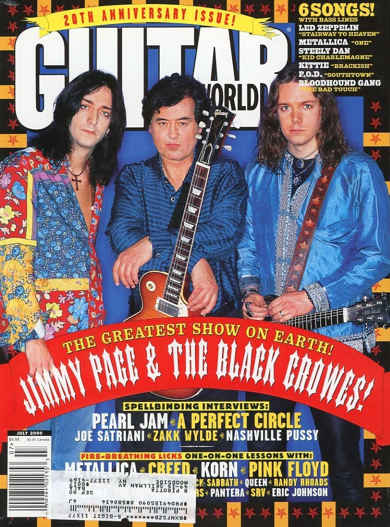 Guitar World - July 2000 (Magazine Back Issue)