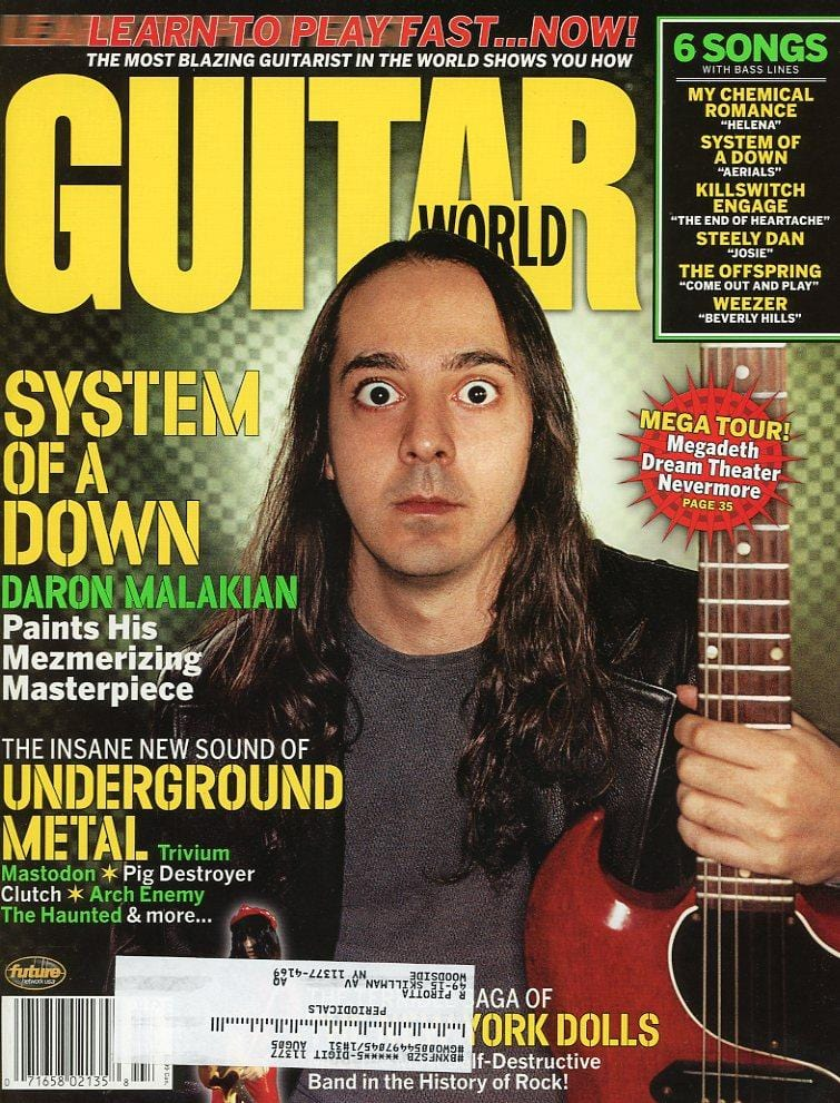 Guitar World - July 2005 (Magazine Back Issue)