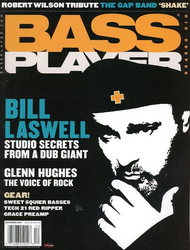 Bass Player Magazine Back Issue - December 2010