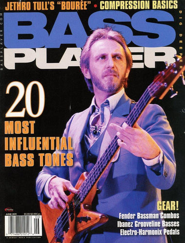 Bass Player Magazine Back Issue - June 2011