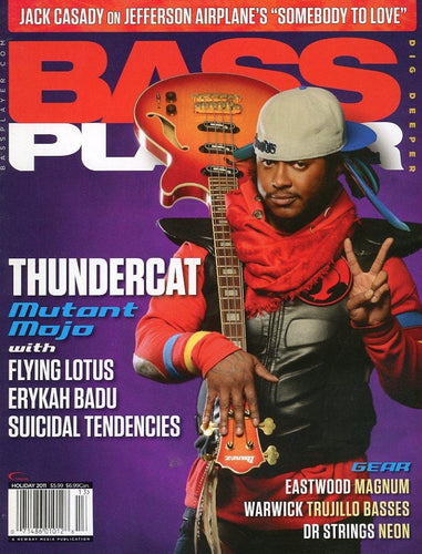 Bass Player Magazine Back Issue - Holiday 2011