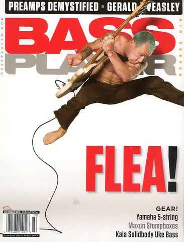 Bass Player Magazine Back Issue - October 2011