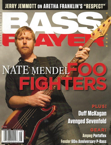 Bass Player Magazine Back Issue - August 2011
