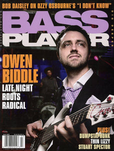 Bass Player Magazine Back Issue - July 2011