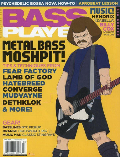 Bass Player Magazine Back Issue - April 2010