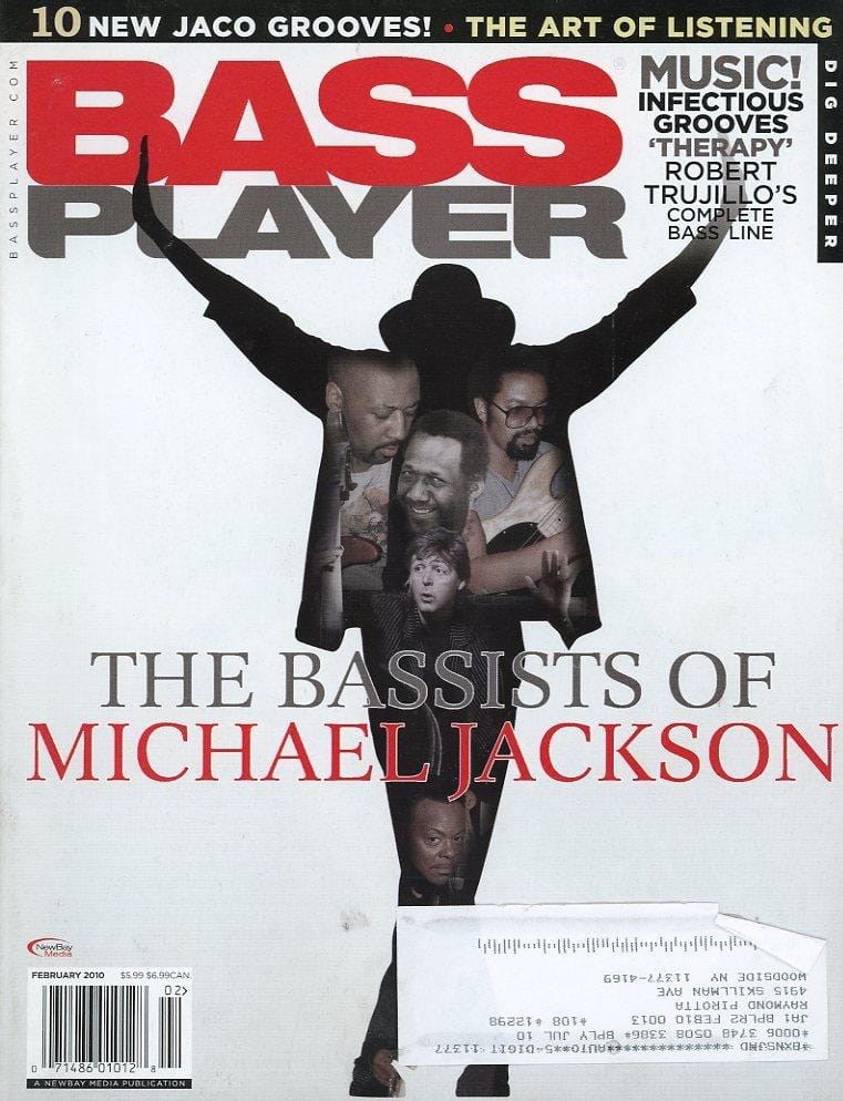 Bass Player Magazine Back Issue - February 2010