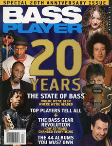 Bass Player Magazine Back Issue - Holiday 2008