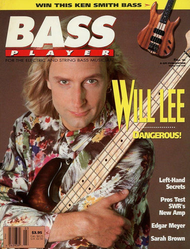 Bass Player Magazine Back Issue - Fall 1990
