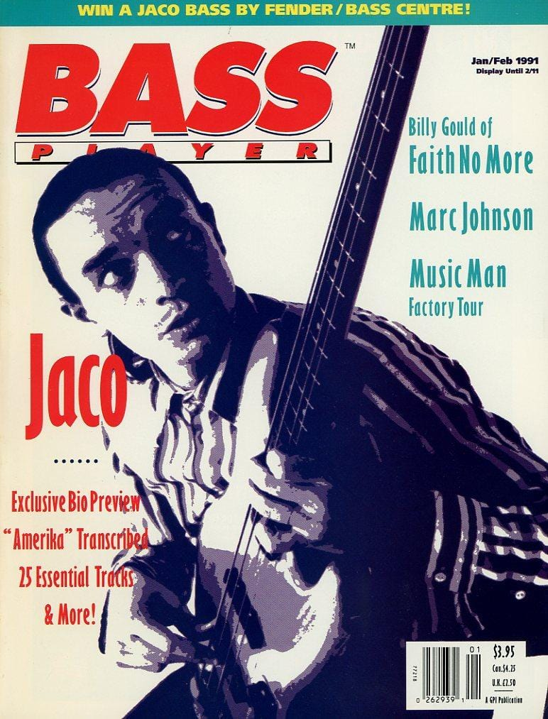 Bass Player Magazine Back Issue - January/February 1991