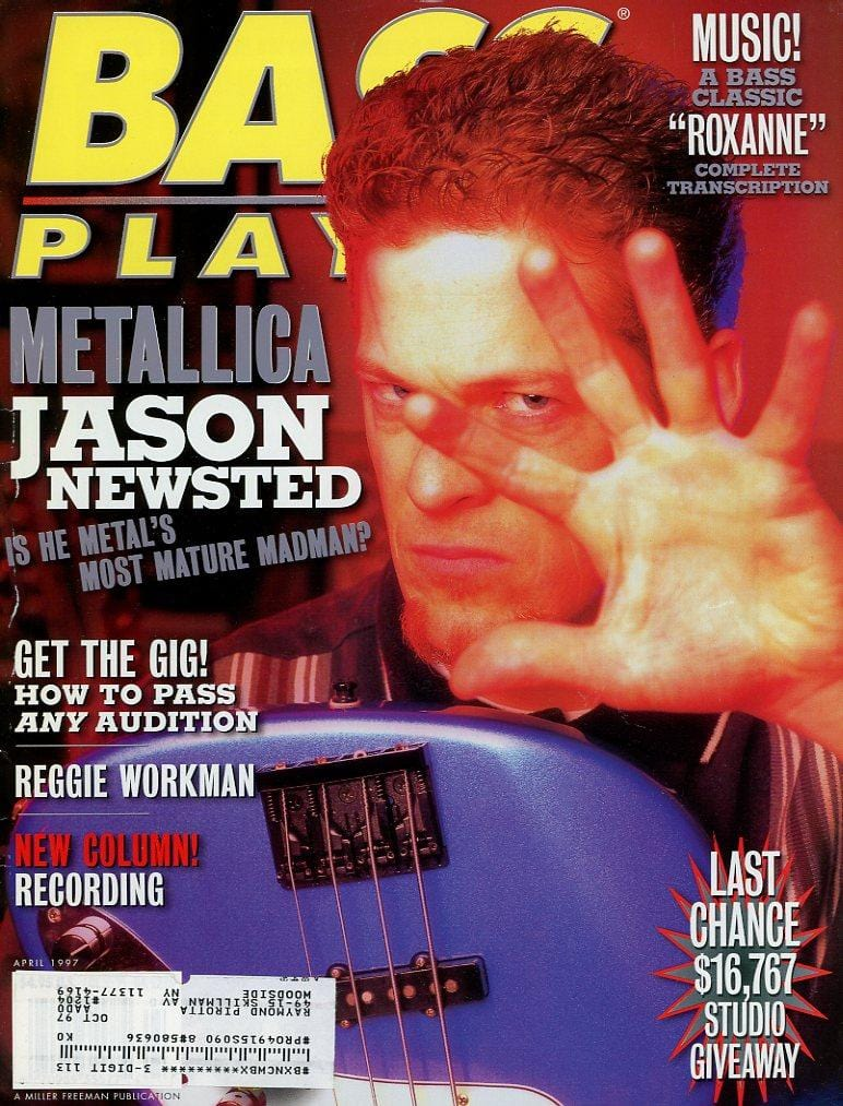 Bass Player Magazine Back Issue - April 1997
