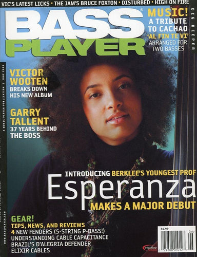 Bass Player Magazine Back Issue - June 2008