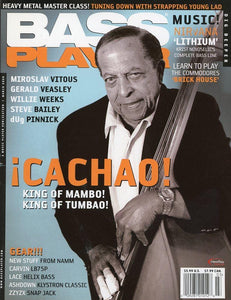 Bass Player Magazine Back Issue - March 2008