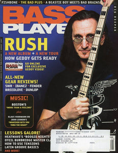Bass Player Magazine Back Issue - August 2007