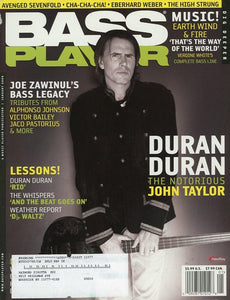 Bass Player Magazine Back Issue - January 2008