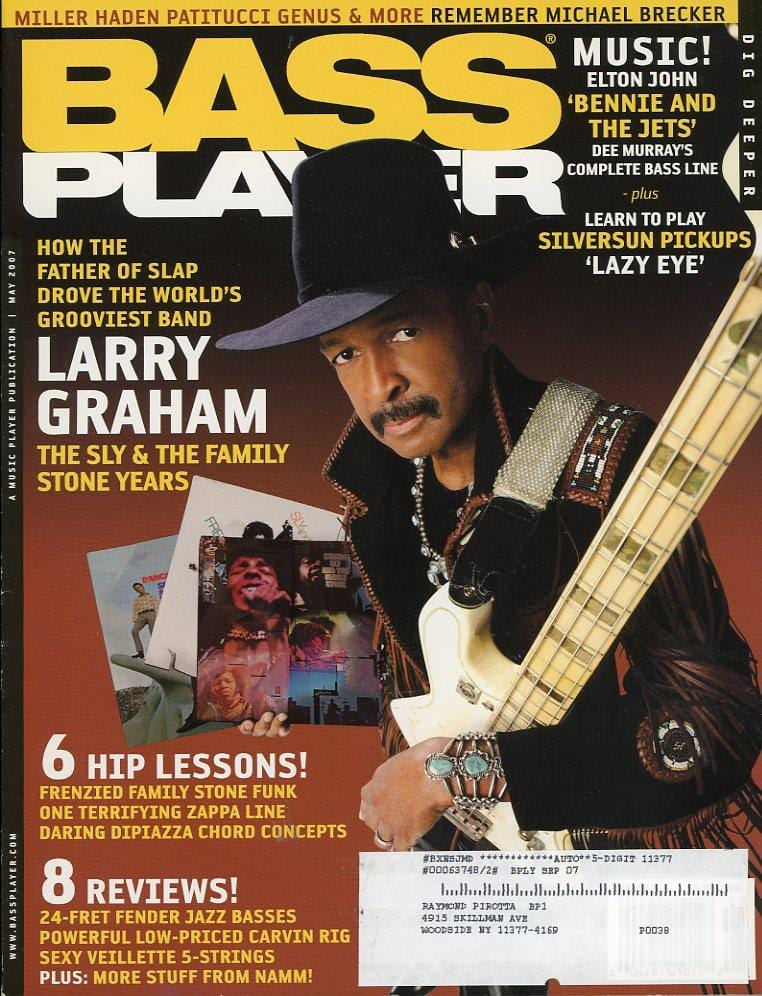 Bass Player Magazine Back Issue - May 2007