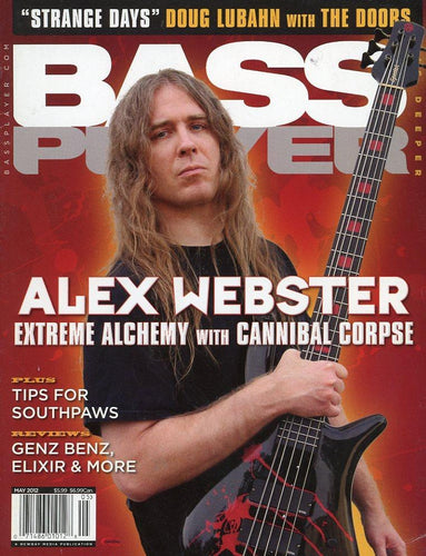 Bass Player Magazine Back Issue - May 2012
