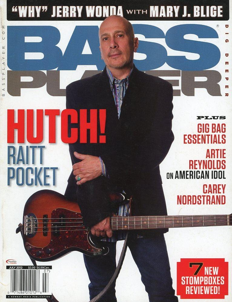 Bass Player Magazine Back Issue - July 2012