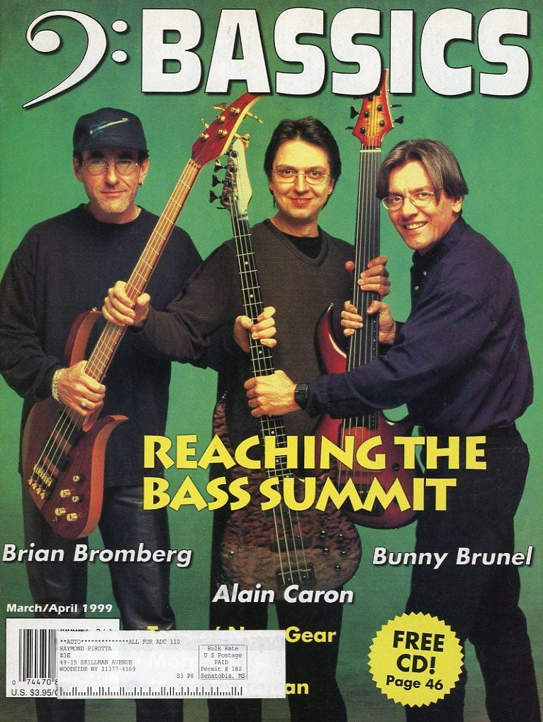 Bassics Magazine Back Issue - March/April 1999