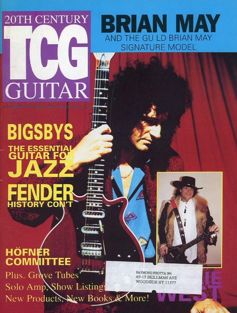 20th Century Guitar - November/December 1993 (Magazine Back Issue)
