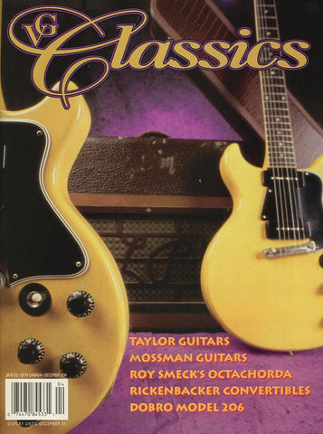 Vintage Guitar Classics - December 1996 Magazine Back Issue