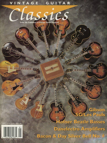 Vintage Guitar Classics - March 1996 Magazine Back Issue
