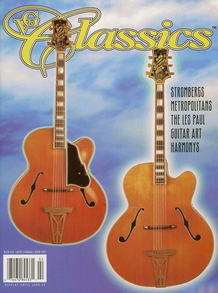 Vintage Guitar Classics - June 1997 Magazine Back Issue