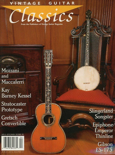 Vintage Guitar Classics - December 1995 Magazine Back Issue