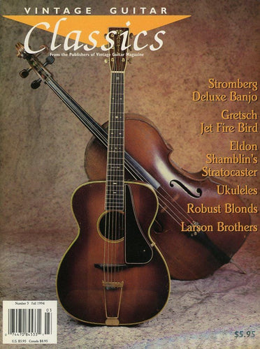 Vintage Guitar Classics #3 - Fall 1994 Magazine Back Issue
