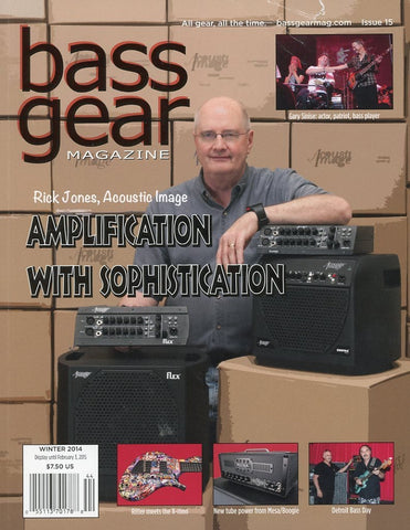 Bass Gear Magazine Back Issue - Winter 2014 - Issue #15