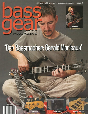 Bass Gear Magazine Back Issue #9 - November 2012