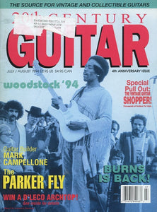 20th Century Guitar - July/August 1994 (Magazine Back Issue)