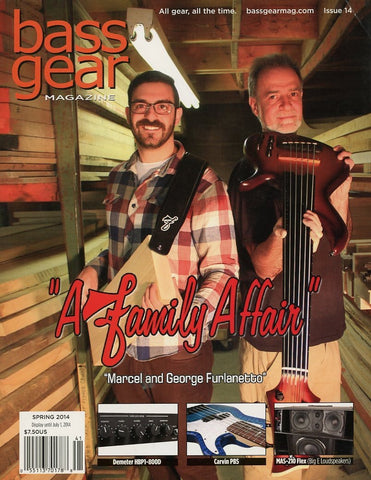 Bass Gear Magazine Back Issue - Spring 2014 - Issue #14