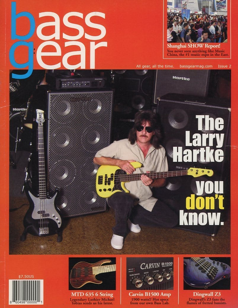 Bass Gear Magazine Back Issue #2