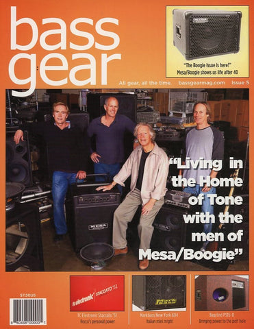 Bass Gear Magazine Back Issue #5 - January 2011