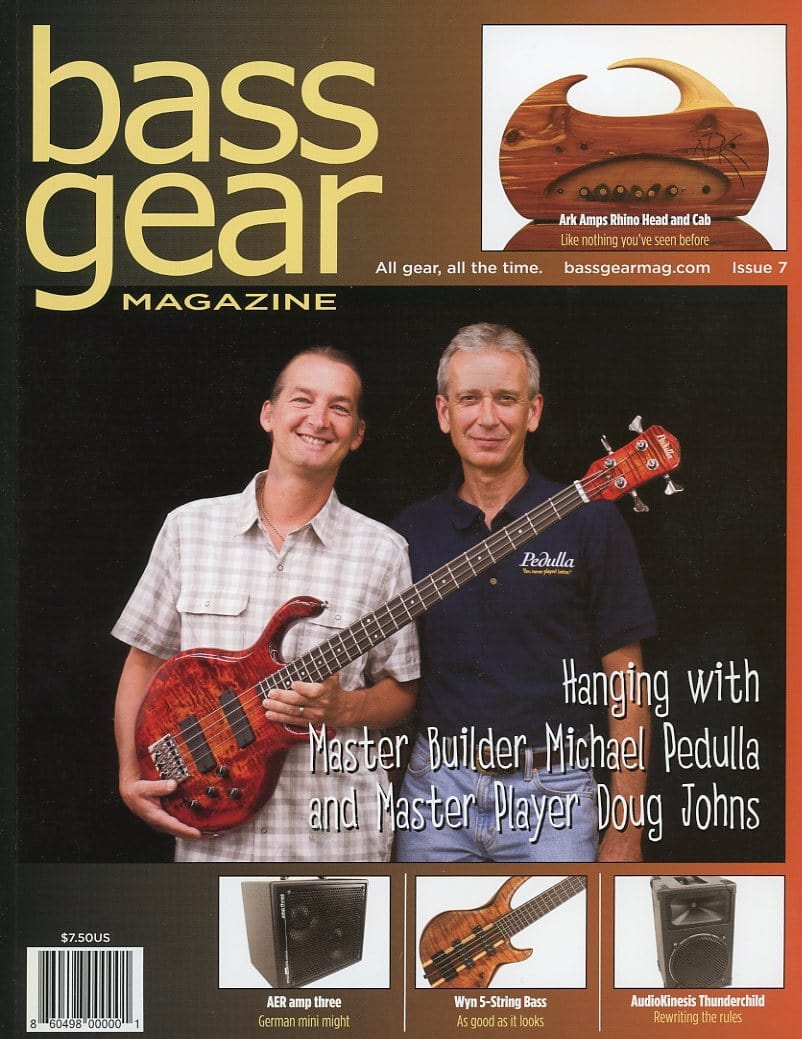 Bass Gear Magazine Back Issue #7 - January 2012