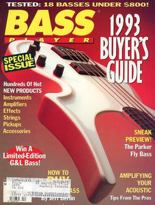 Bass Player Magazine Back Issue - November/December 1992