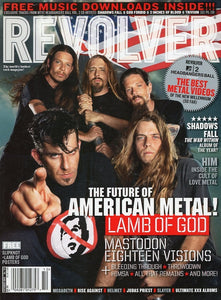 Revolver Magazine Back Issue - October 2004