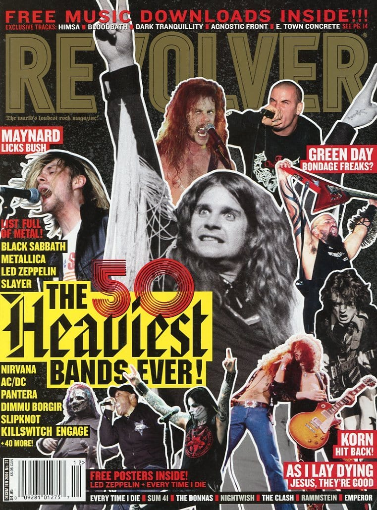 Revolver Magazine Back Issue - December 2004