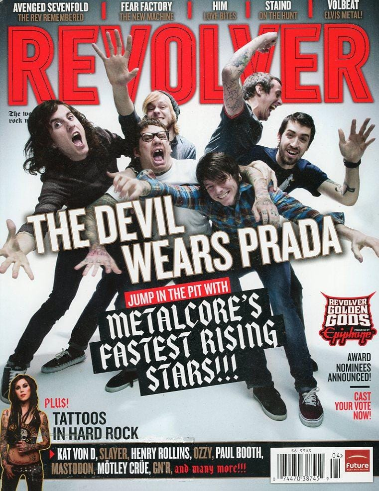 Copy of Revolver Magazine Back Issue - March/April 2010